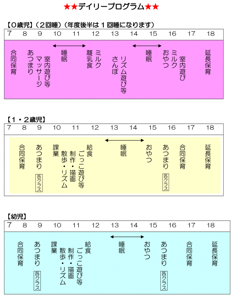 01中広デイリープログラム